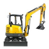 EXCAVATOR EZ36 SMART A/C ZERO TAIL WN